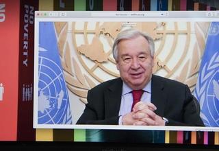 Secretario António Guterres. Fuente ONU.