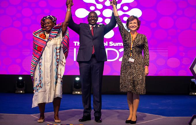 Juntos, haremos de los próximos diez años una década de acción y resultados para las mujeres y las niñas, manteniendo sus derechos y opciones en el centro de todo lo que hacemos: Dra. Natalia Kanem